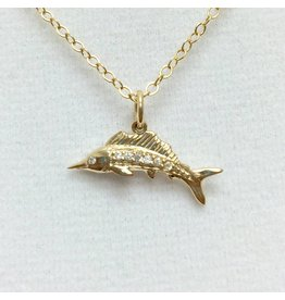Sailfish - CZ Gold Filled