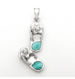 Sterling & Larimar Double Flip Flop