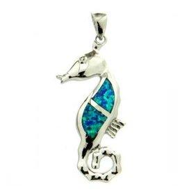 Sterling & Opal Seahorse