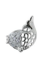 Koi Fish - CZ Silver