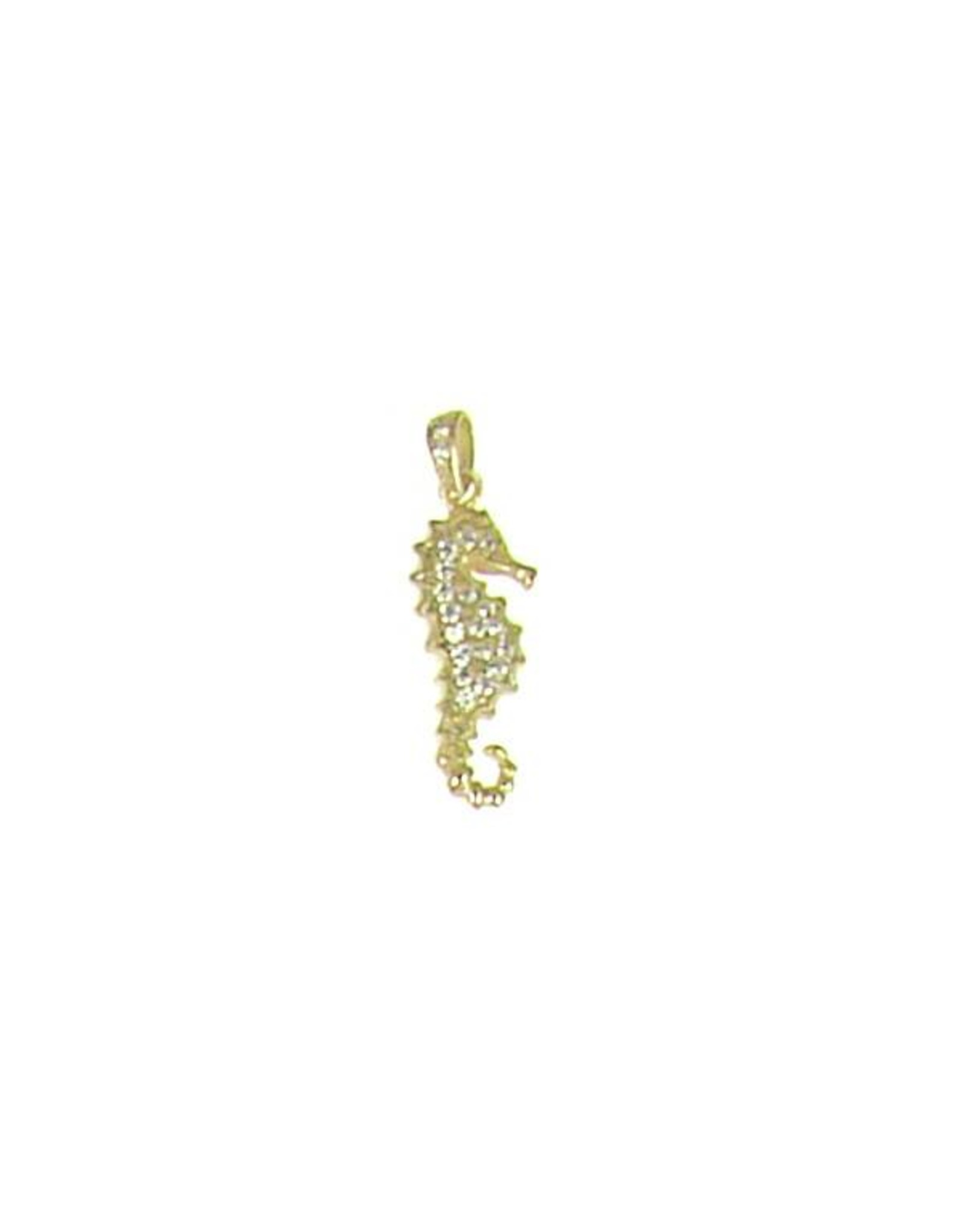 Seahorse - CZ Gold Filled