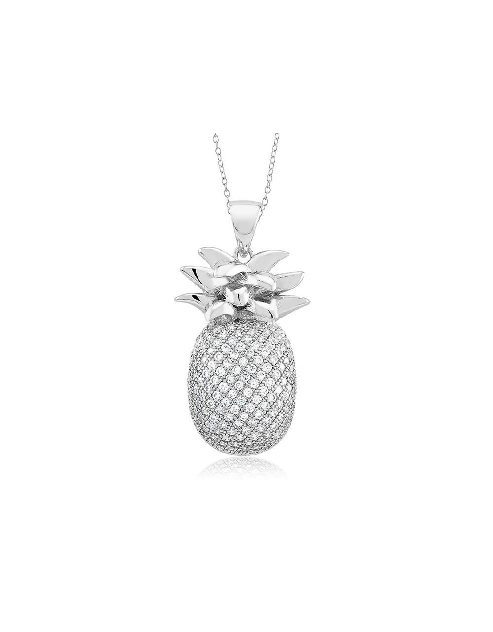 Pineapple - CZ Silver