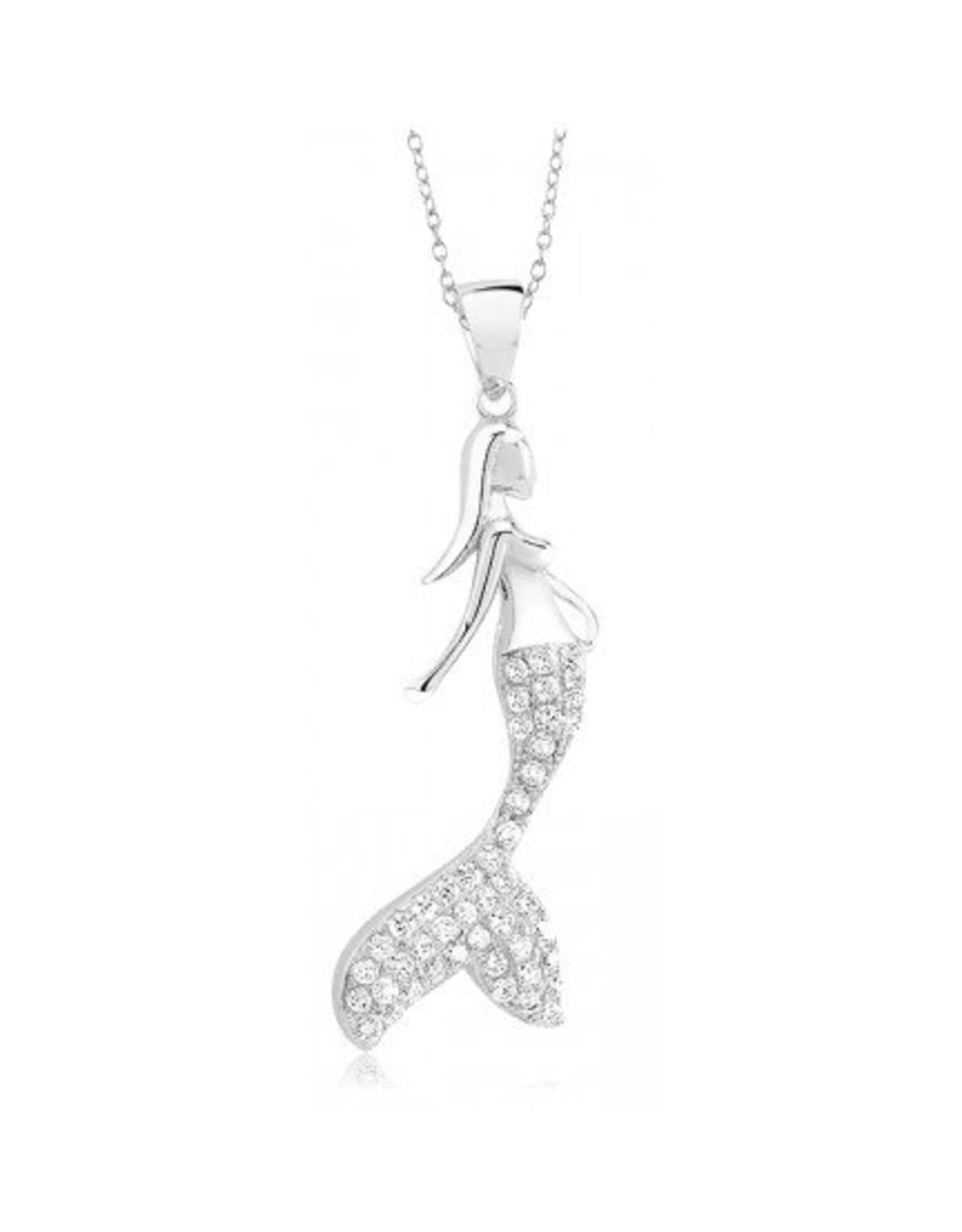 Mermaid - CZ Silver