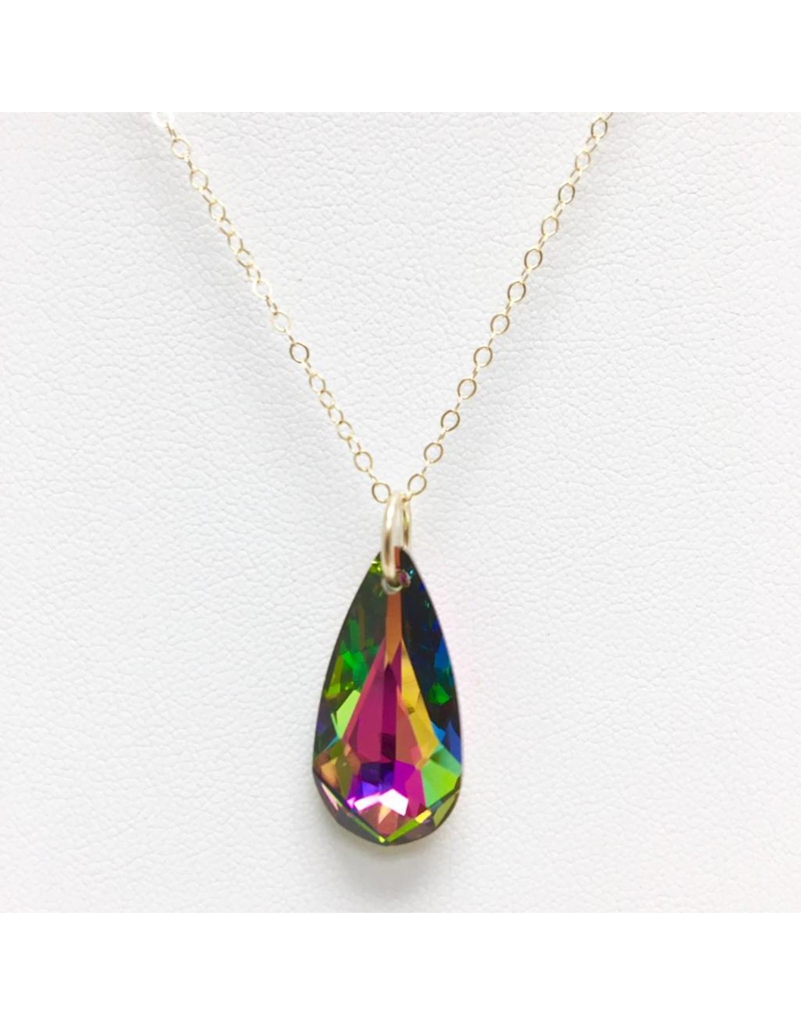 Gold Filled & Crystal Pendant