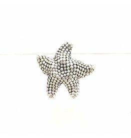 Starfish Electroform Ring