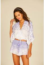 Dusty Lilac Kimono Top