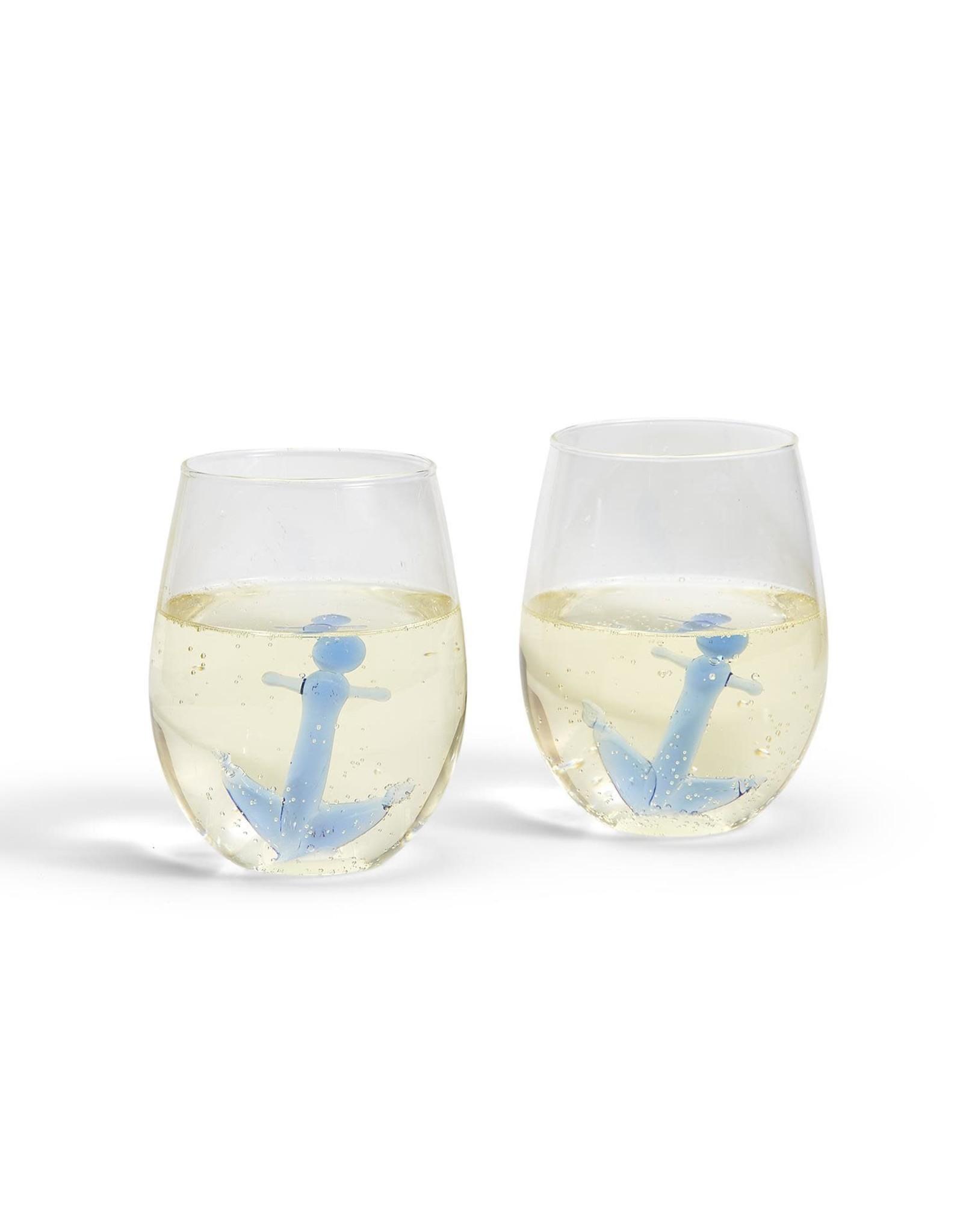 Anchor Wine Glasses (Set 2)