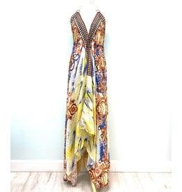 Indian Tropical Fashions Rococo Handkerchief Dress