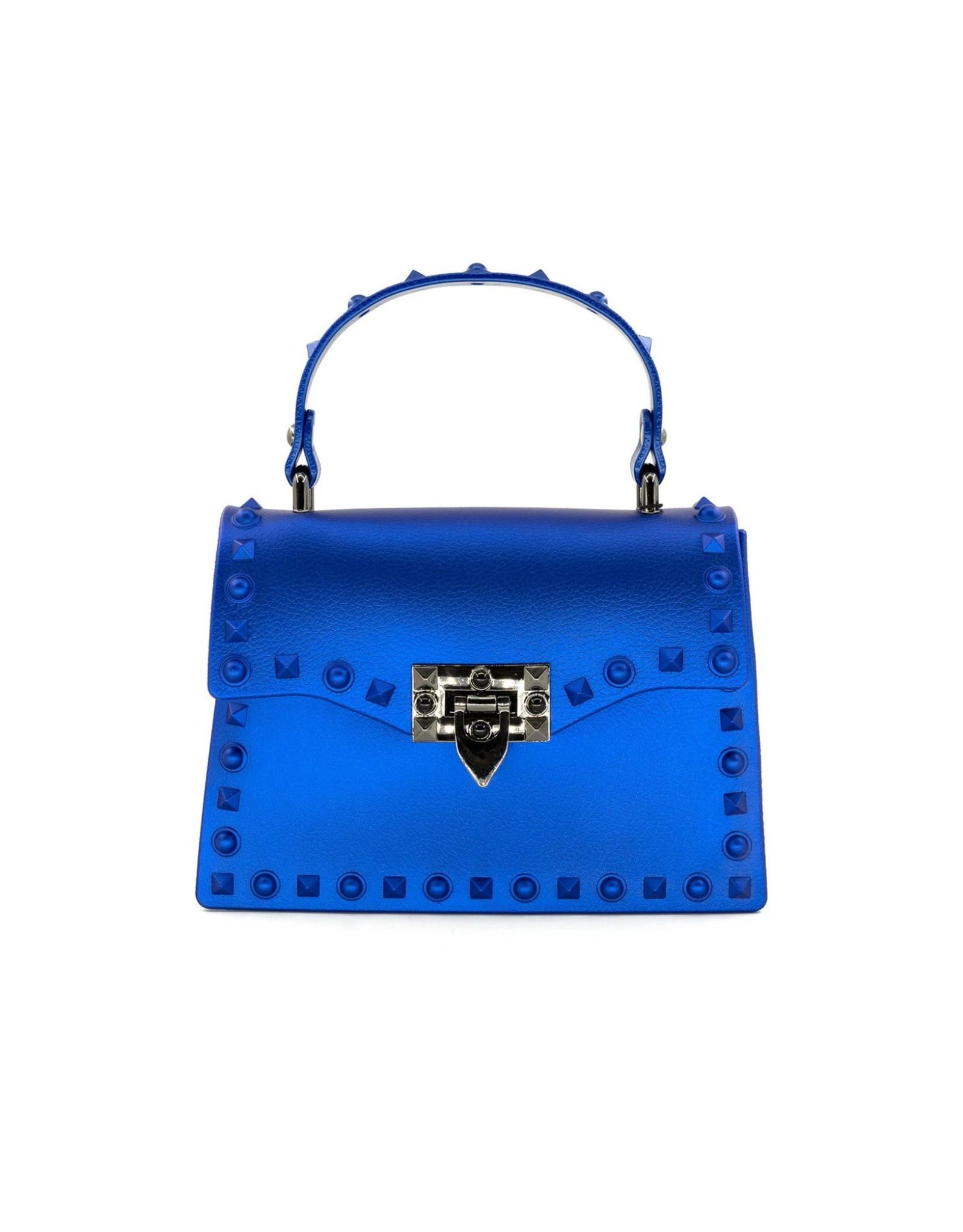 Blue Jelly Valentine Bag