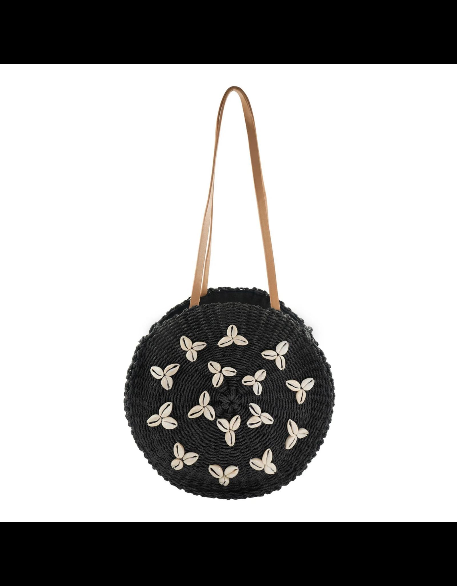 Black Cowrie Morea Bag
