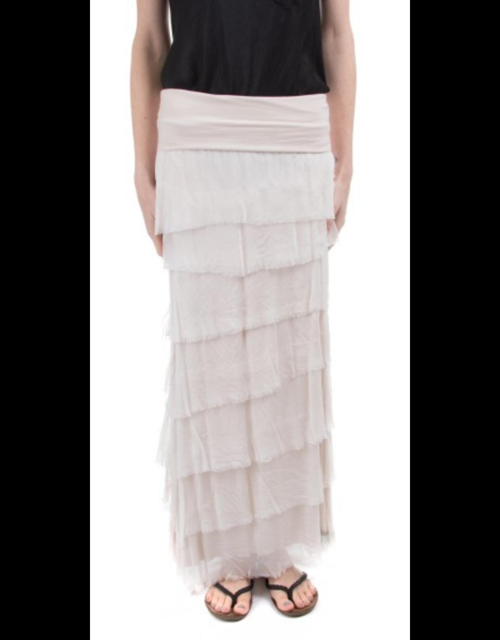 Sand Flutter Maxi Skirt