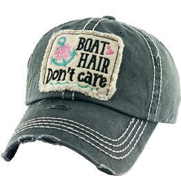 KB Ethos Black Boat Hair Cap