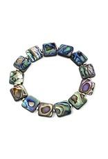 Square Abalone Bracelet