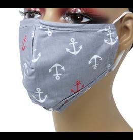 Sunrise USA Trading Grey Anchor Mask