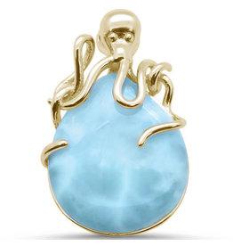 Sonara Jewelry GP Larimar Octopus