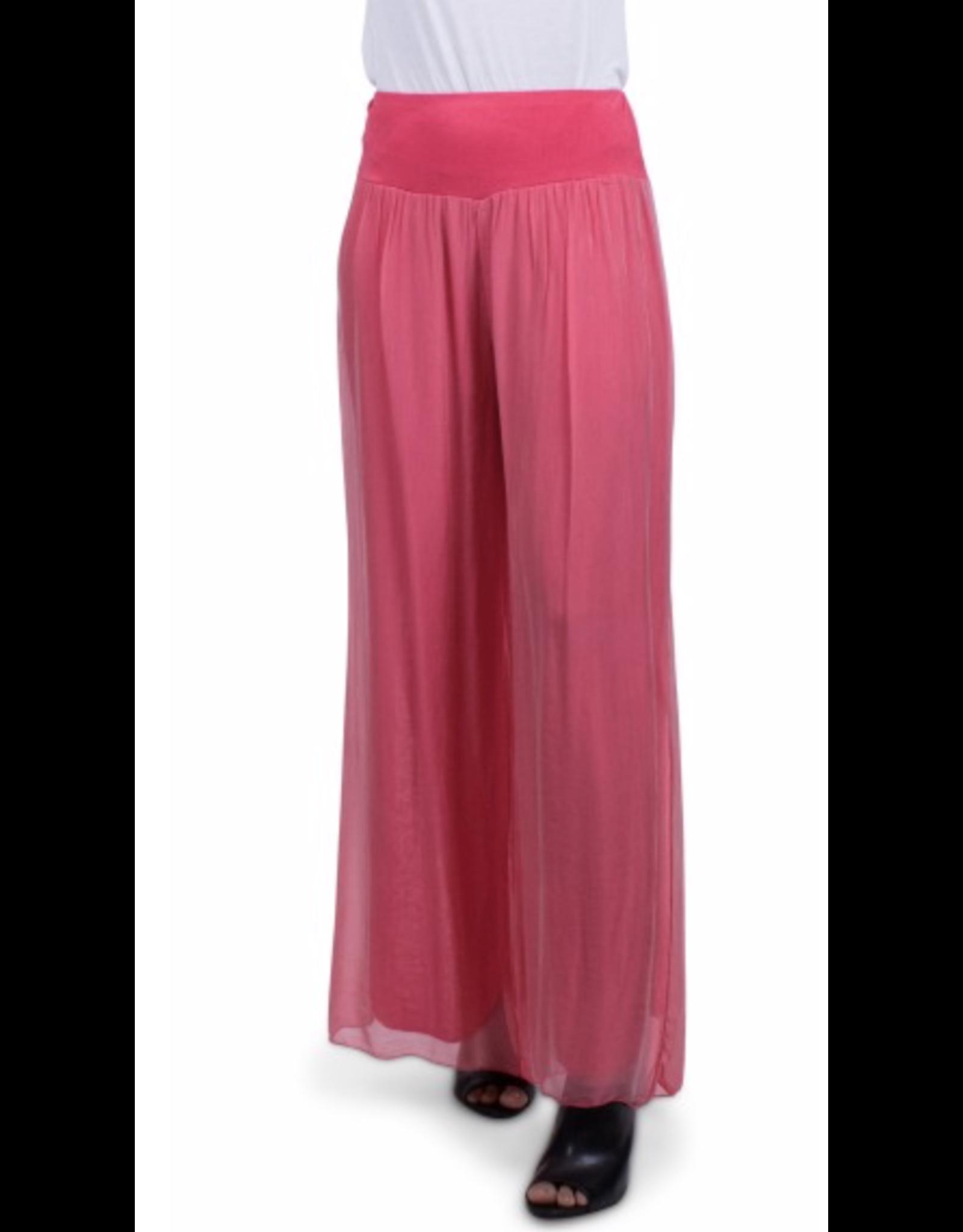 Gigi Moda Strawberry Silk Lined Pants