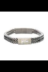 Inox Anchor Franco Chain Bracelet