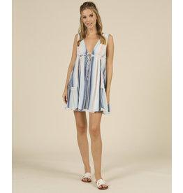Ocean Drive Multi-Stripe Promo Dress