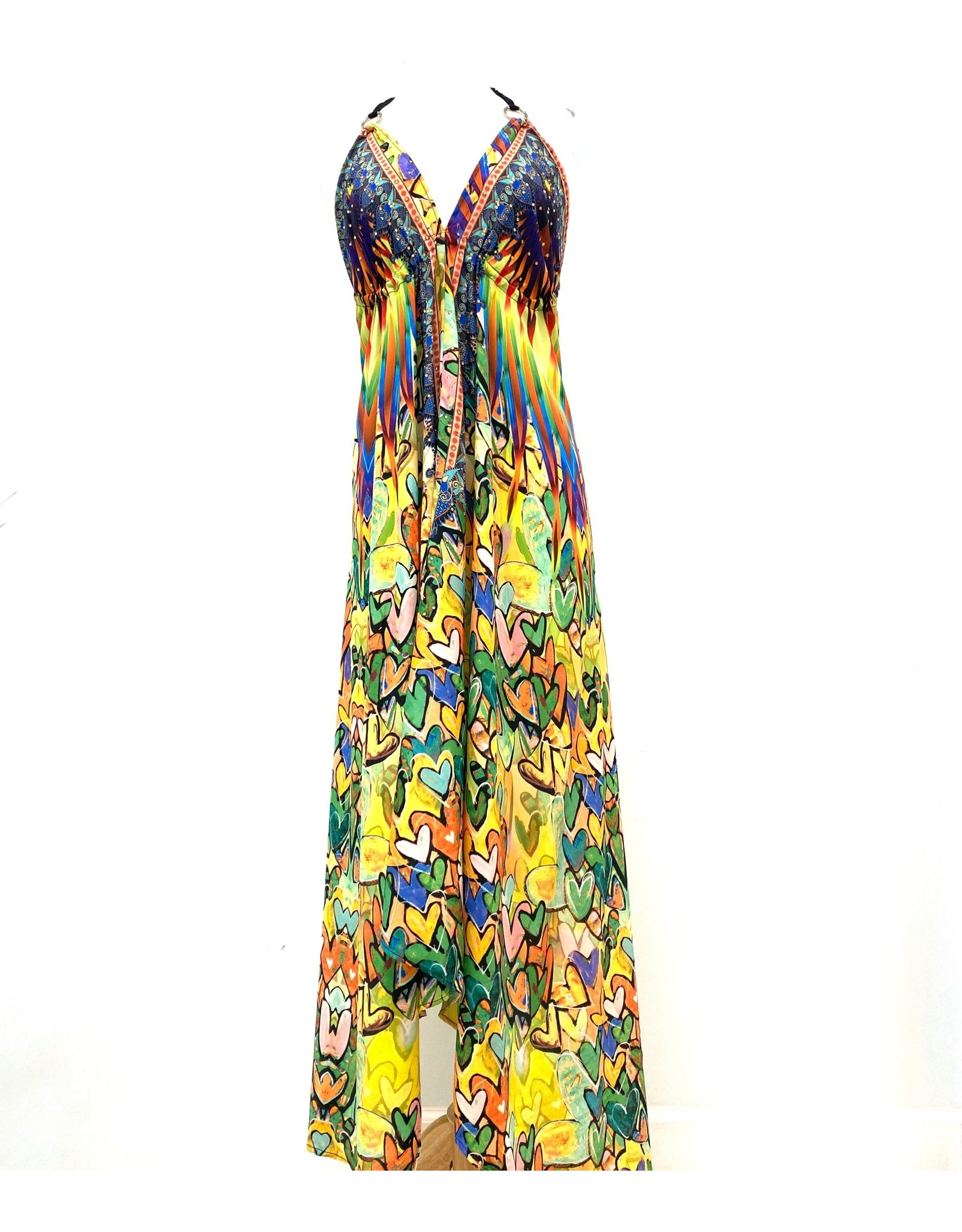 Indian Tropical Fashions All The Love Handkerchief Dress
