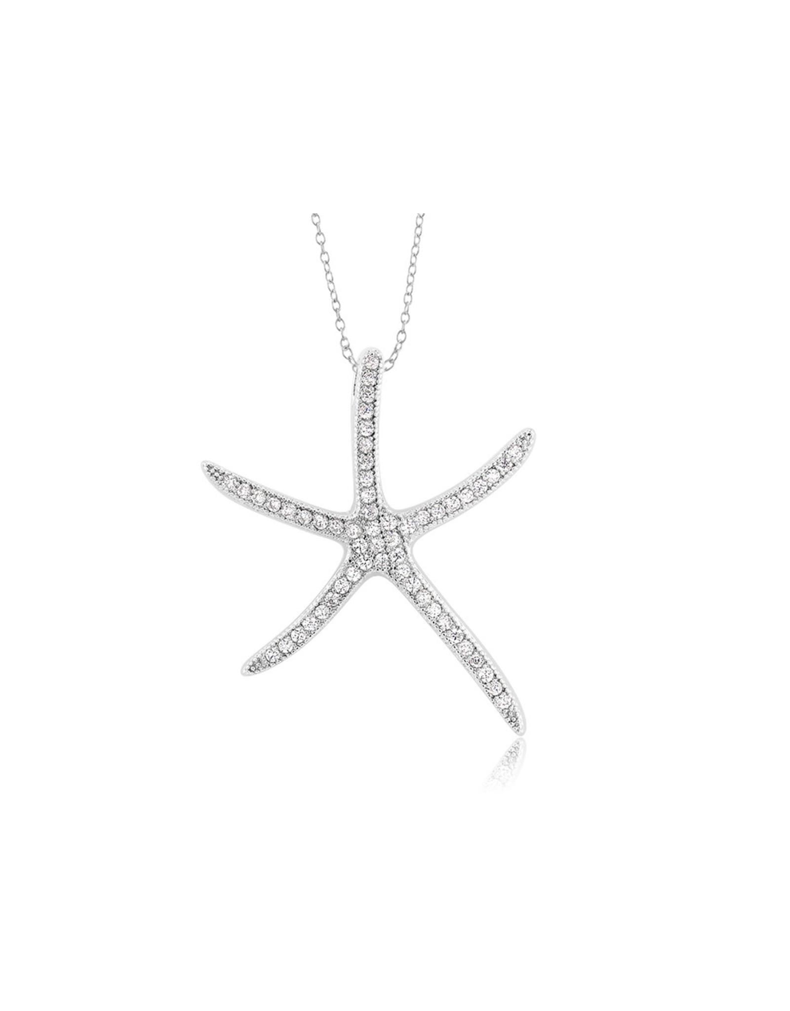 Starfish - Med CZ Skinny 2 RB