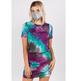 Vava Aurora Tie-Dye Jemime Dress