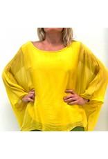 Sunshine Silk Sleeve Top