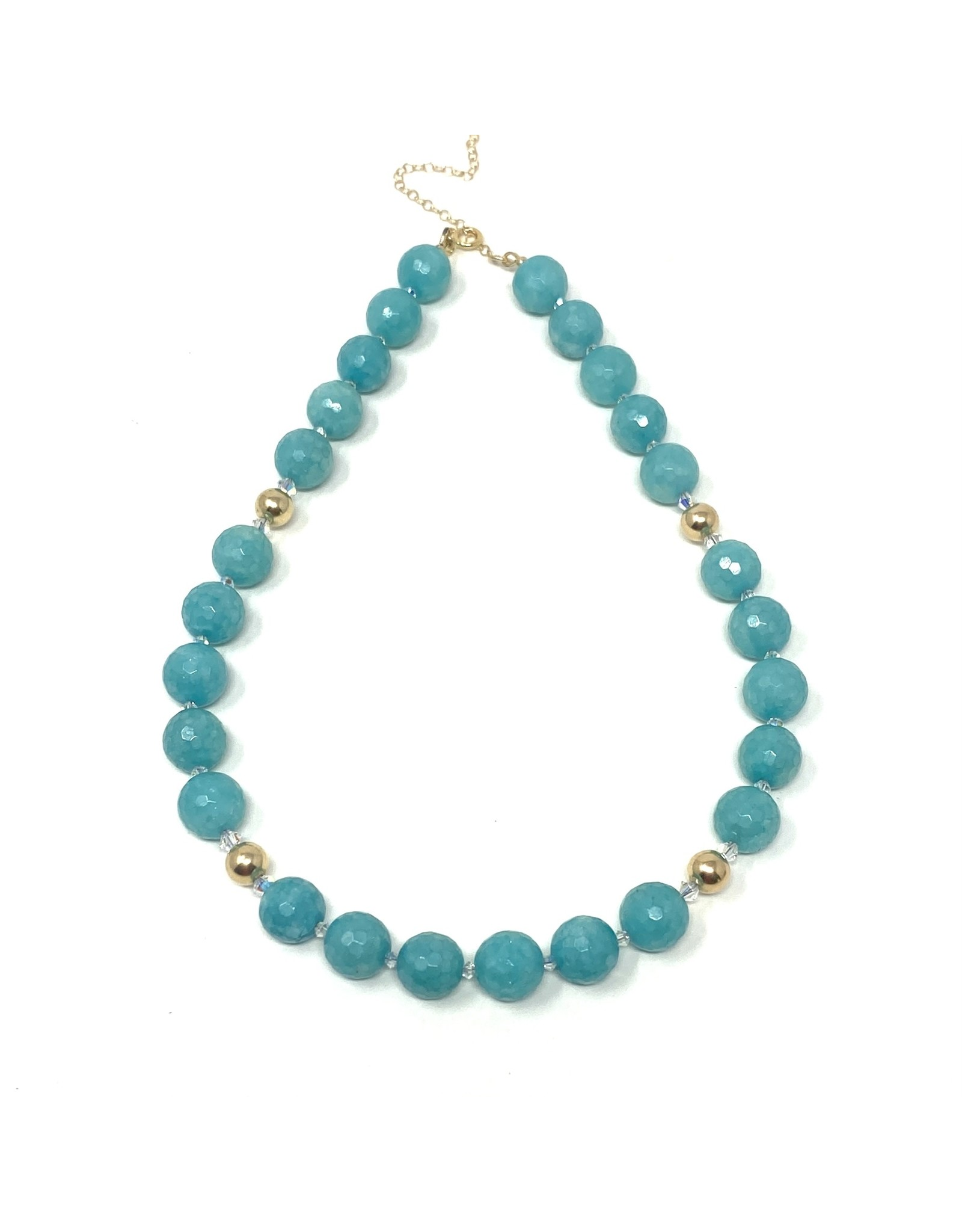 GF Faceted Amazonite Necklace