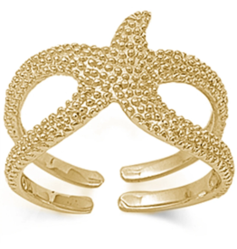 Sonara Jewelry GP Starfish Ring