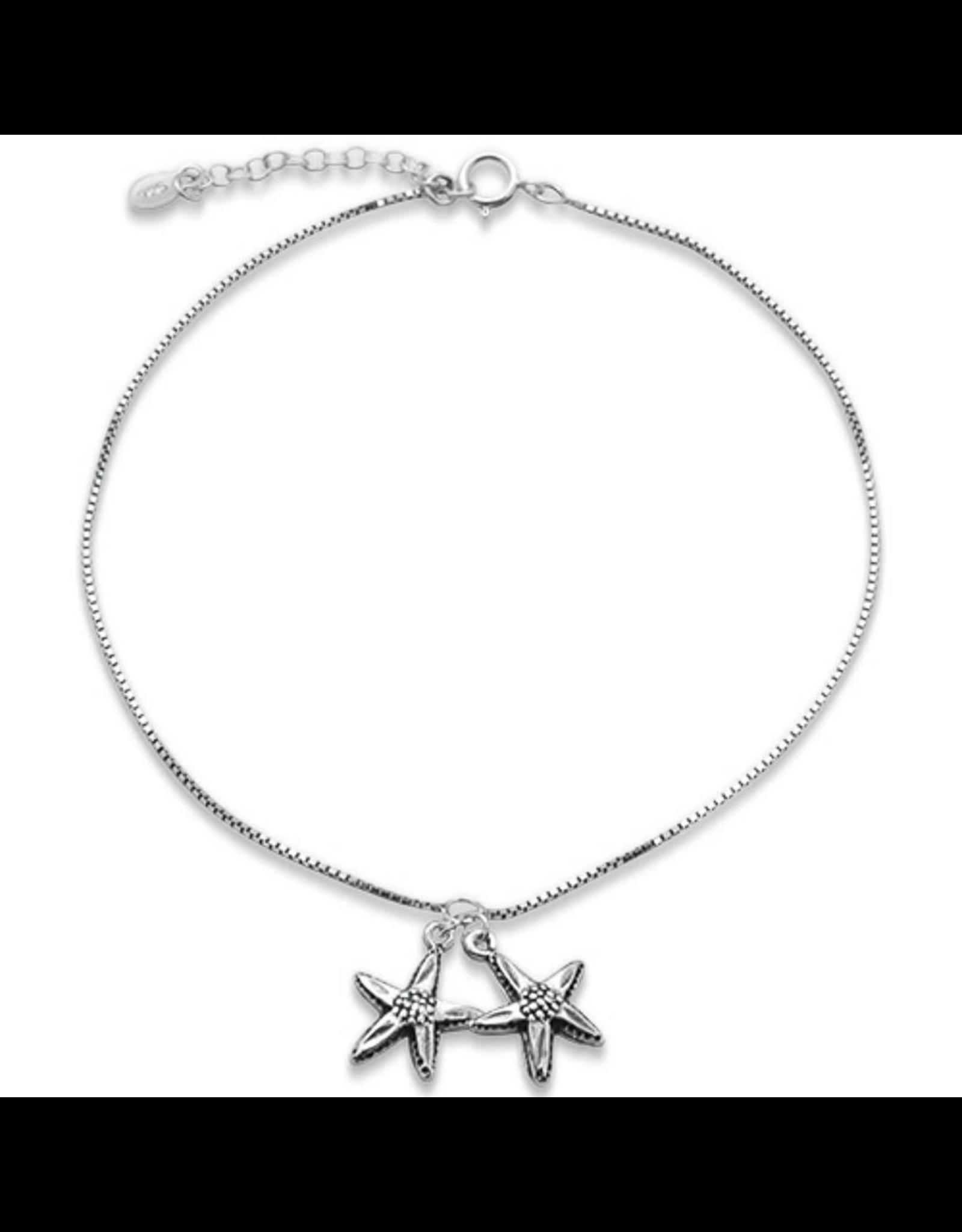 Sonara Jewelry Double Starfish Anklet