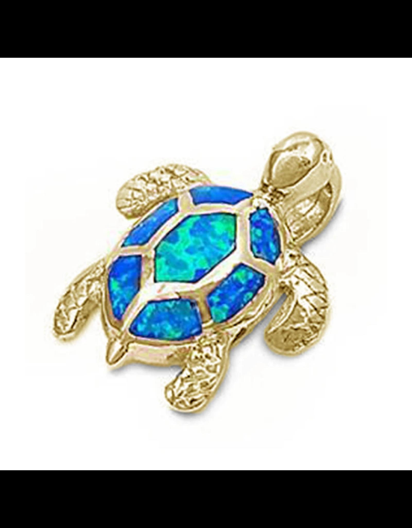 Sonara Jewelry GP Blue Opal Turtle