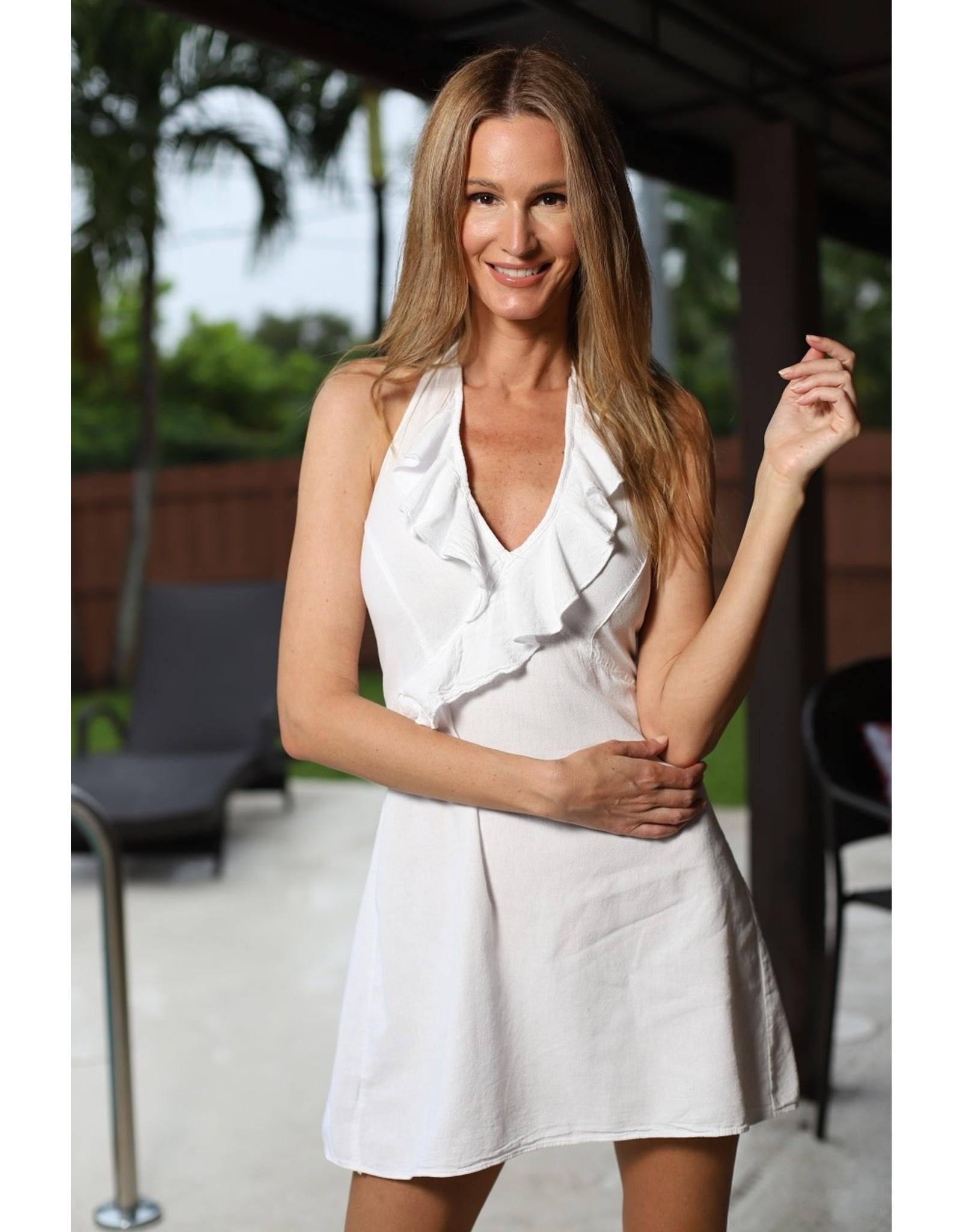 White Rumberita Dress