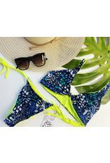 Summer Rae Designs Blue Leopard Amelia Top