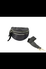 Black Camo Fanny Pack/Cross-body Bag