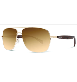 Abaco Polarized Austin Gold/Brown Gradient