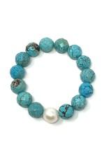 (C) Turquoise & FWP Bracelet
