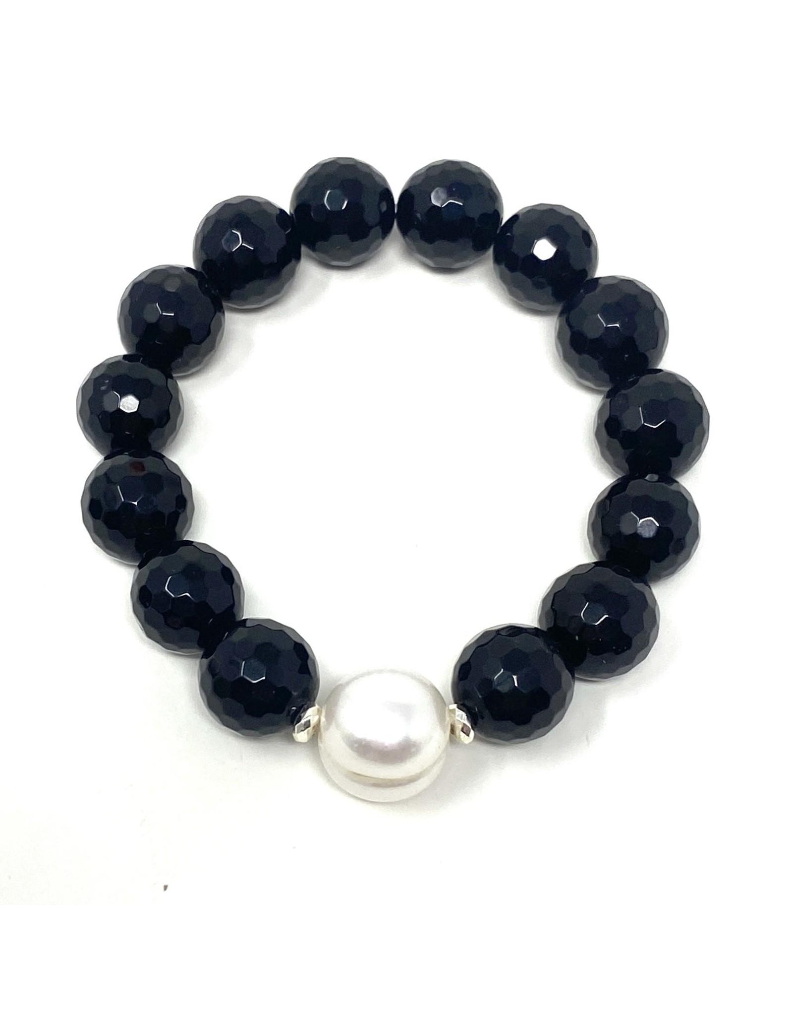 Onyx & Large FWP Bracelet