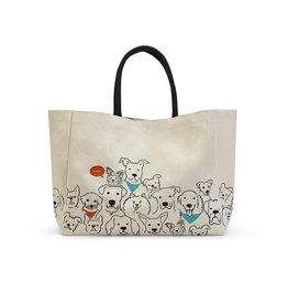 Dog Crew Tote Bag