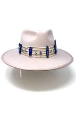 My Gypsy Child Lapis Cowrie Hat