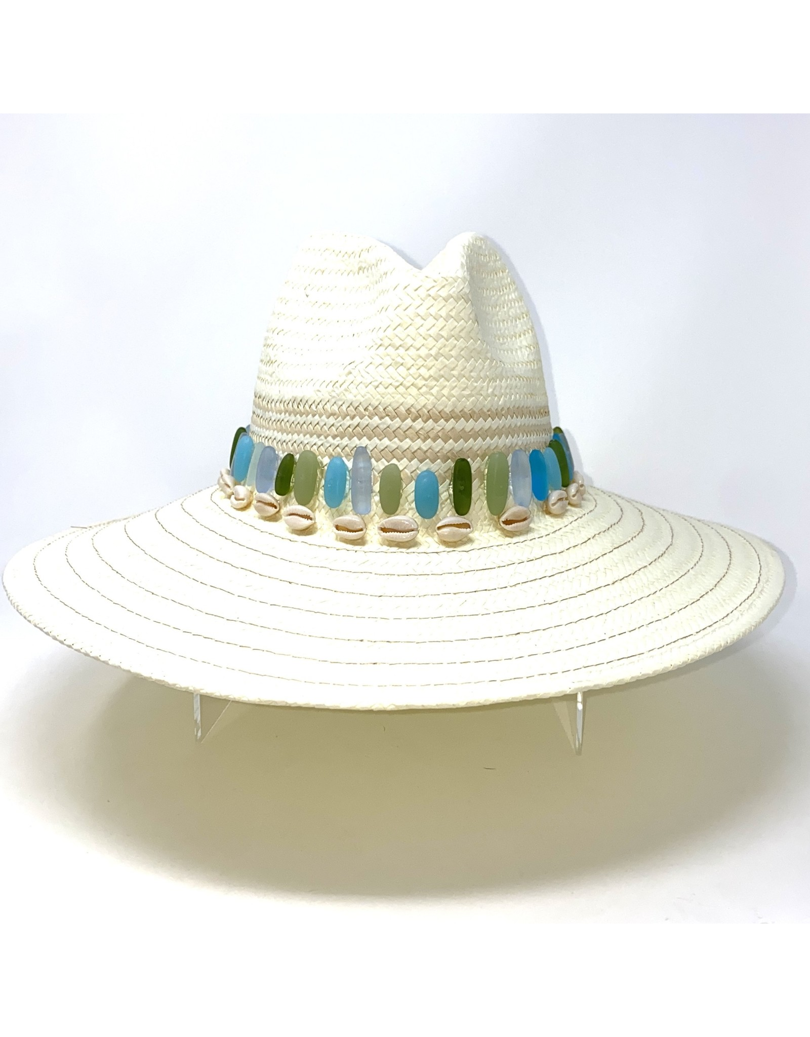 My Gypsy Child Seaglass & Cowrie Hat