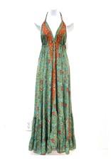 Teal Boheme Long Dress