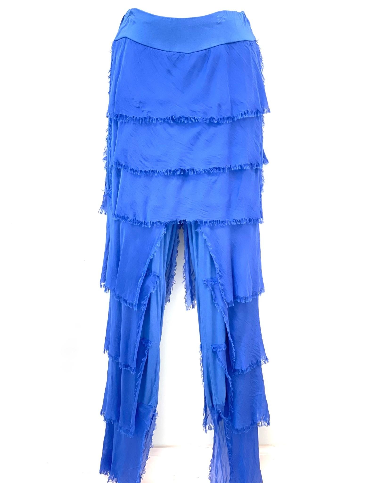 Royal Silk Flutter Pants