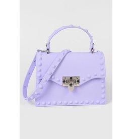 Plaza Mall Lavendar Jelly Valentine Bag