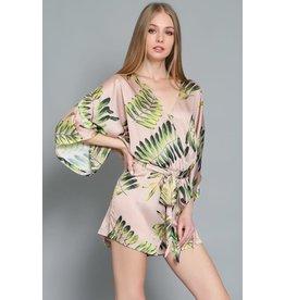 Palm Beach Kimono Romper