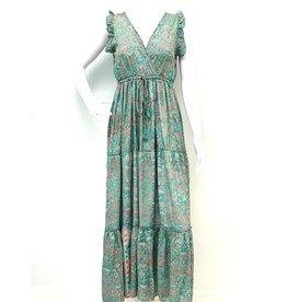 Teal Laura Boheme Dress