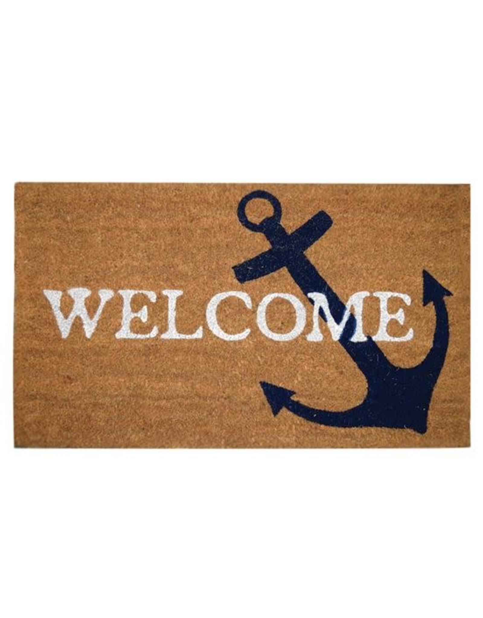 Anchor Welcome Mat