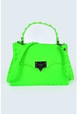 Plaza Mall LG Neon Green Valentine Bag