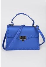 Plaza Mall LG Blue Jelly Valentine Bag