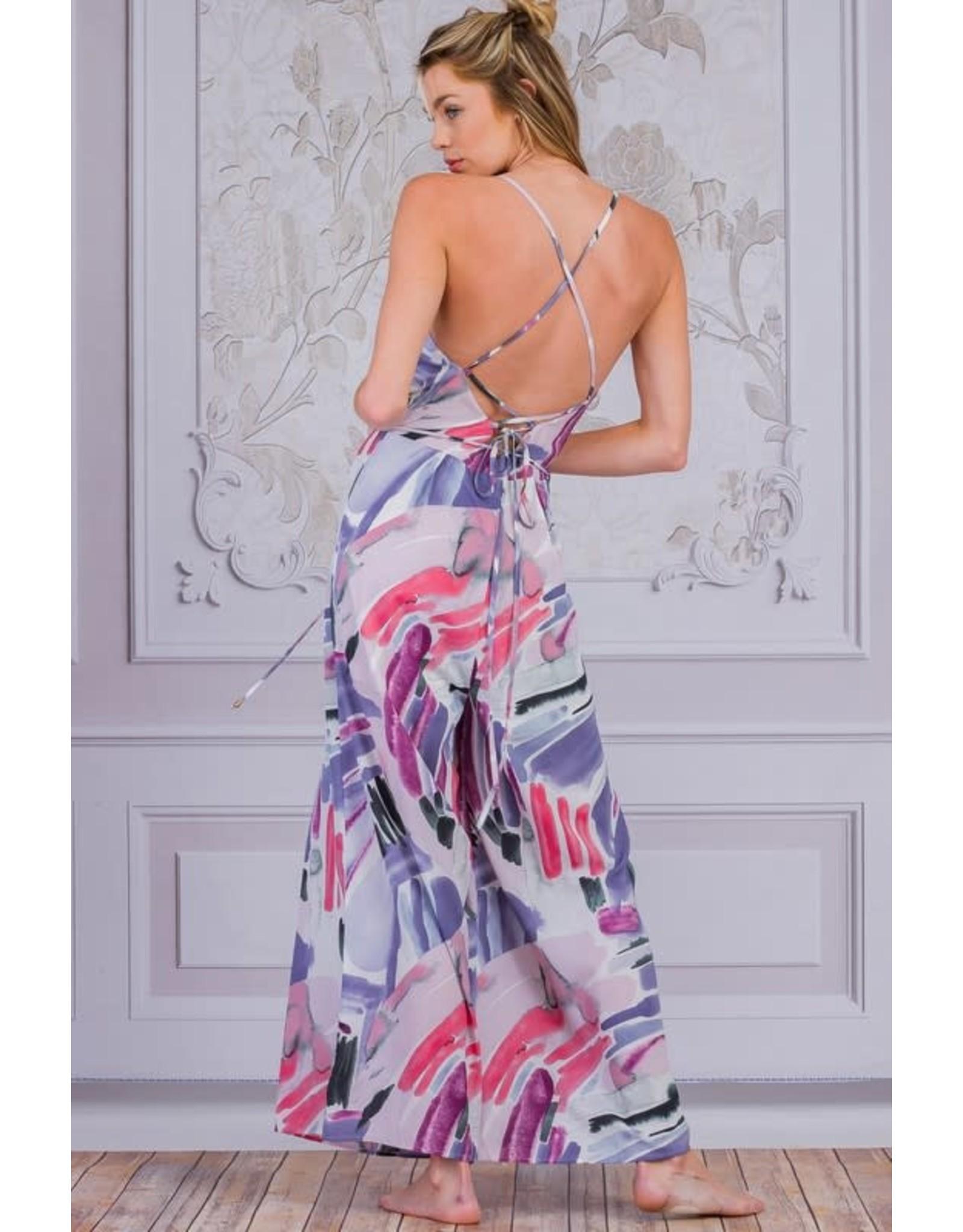 Ambition Leighton Lavender Jumpsuit