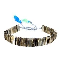 Woven Tassel Drawstring Bracelet