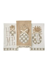 Welcome Pineapple Towels